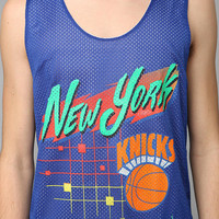 New York Knicks Mesh Tank Top