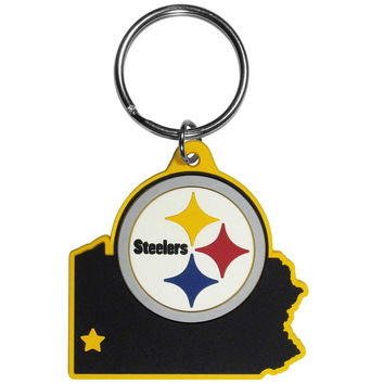 Pittsburgh Steelers Home State Flexi Key Chain FHPK160