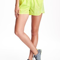 Go-Dry Run Perforated Short for Women | Old Navy