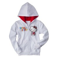 Hello Kitty Infant Toddler Girls' Hoodie - White