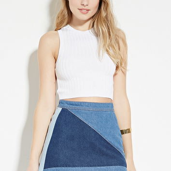 Ribbed Crop Top | Forever 21 - 2000170971