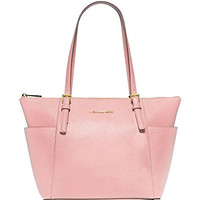 Michael Kors Women's New Fashion Top Zip Saffiano Leather Tote