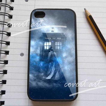 doctor who shadow galaxy nebula for iPhone 4 / 4S / 5 Case Samsung Galaxy S3 / S4 Case