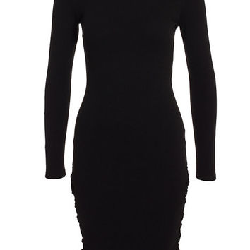 Side Lace Up Dress, NLY One