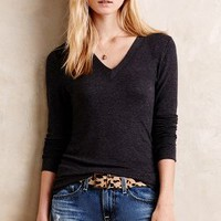 V-Neck Layer Tee by Bordeaux
