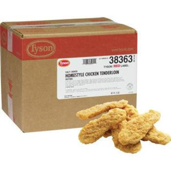 Tyson Red Label Chicken Tender Cooked 10 lbs Ship in 2 days