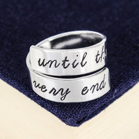 Until the Very End Ring