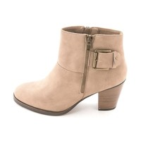 Sugar Womens Ebba Fabric Almond Toe Ankle Fashion Boots | Overstock.com Shopping - The Best Deals on Boots