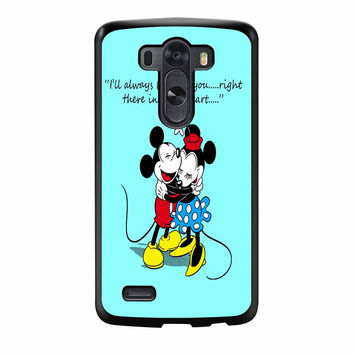 Mickey And Minnie Mouse Falling In Love LG G3 Case