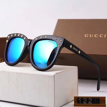 GUCCI Stars Women Fashion Shades Eyeglasses Glasses Sunglasses