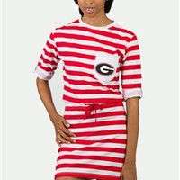 Georgia Tie Breaker Dress | UGA Tie Breaker Dress | Georgia Bulldogs Dress