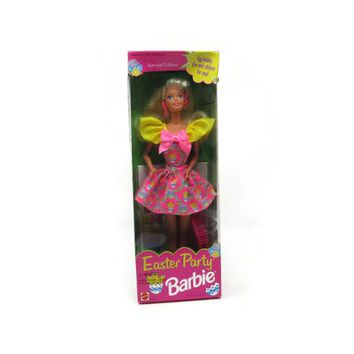 Easter Party Barbie, Vintage Special Edition Barbie, New Old Stock NOS