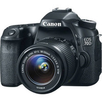 EOS 70D DSLR Camera with 18-55mm f/3.5-5.6 STM Lens