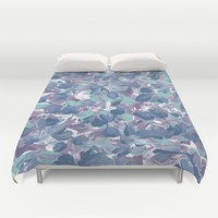 Floral Water Duvet Cover by Kat Mun | Society6