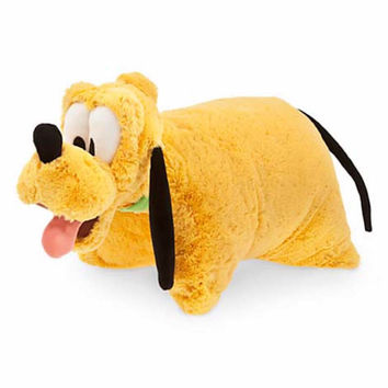 disney parks reverse pillow pet pluto plush new with tags