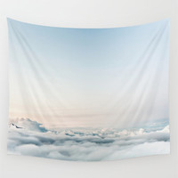 Wall Tapestry, Wall Hanging, Clouds, Sky, Photography Wall Art, Large Photo Wall Art, Modern Tapestry, Home Decor