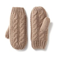 Old Navy Cable Knit Mittens