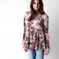 Patrons of Peace Printed Top