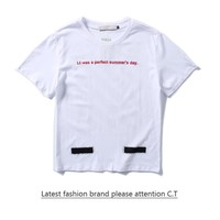 Cheap Women's and men's OFF-WHITE t shirt for sale 85902898_0199