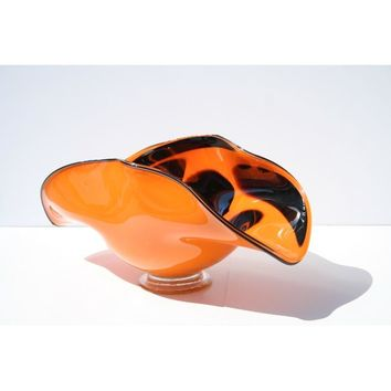 Hand-blown Glass Decorative Ladybug Dish | Overstock.com Shopping - The Best Deals on Baskets & Bowls