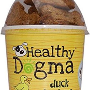 Healthy Dogma Duck Barkers Grain and Gluten Free Dog Biscuits, 8 Ounces