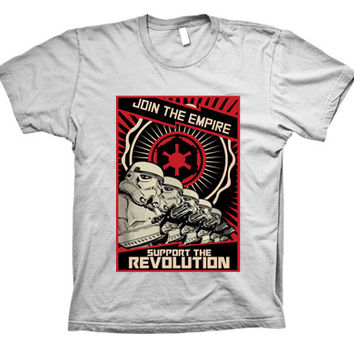 Star Wars Join the Empire Funny T-shirt