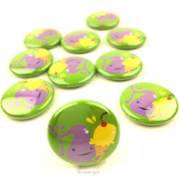 *NEW* - Gall of the Wild Gallbladder Buttons - Set of 10
