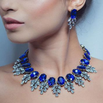 Indian Bridal Statement Party Jewelry Sets