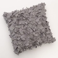 Apt. 9 Bloom Floral Applique Decorative Pillow (Grey)