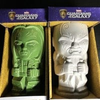 Marvel Guardians of The Galaxy Tiki Ceramic Drax The Destroyer And Gamers New