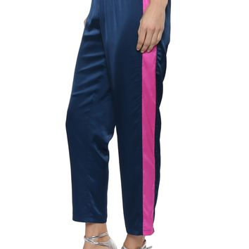 Decker Satin Side Stripe Jogger
