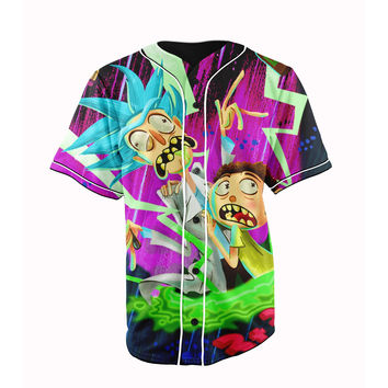 Rick and Morty Jersey