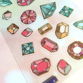 bid diamond huge diamond sticker diamond stone jewelry gemstone vintage jewellery diamond red blue purple pink green diamond theme sticker