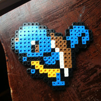 Squirtle Perler Bead