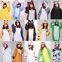Japan Kigurumi Adult Pajamas Pyjamas Animal Suits Cosplay Costume Sleepwear All