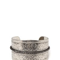 Western Girl Etched Cuff