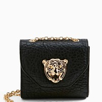 Eye Of The Tiger Crossbody Bag
