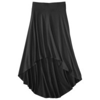 Mossimo® Womens Casual High Low Skirt - Black L