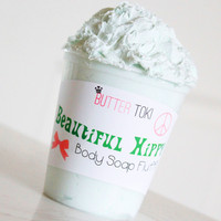 Beautiful Hippy Whipped Body Soap Fluff 8oz