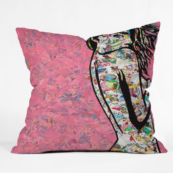 Amy Smith Oh Hello There Throw Pillow