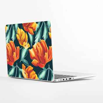Fiery Florals Laptop Skin