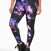 Torrid Active - Space Print Mesh Inset Leggings