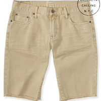 Brooklyn Calling Color Wash Denim Shorts