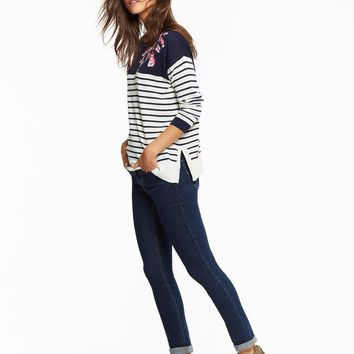 Kady Navy Blossom Jumper | Joules US