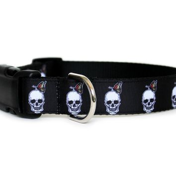 Skulldoggery Dog Collar