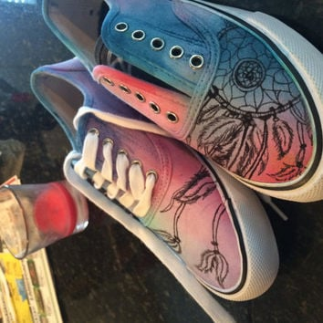 Hand Painted Dream-catcher Vans