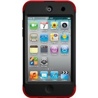 OtterBox Commuter Series Case for iPod touch 4G - Red/Black