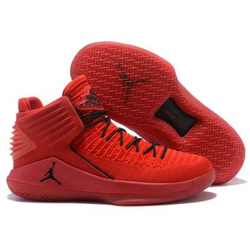 Jordan Air Retro 32 Men Basketball shoes Rosso Corsa Crack Flights Speed Athletic Outdoor Sport Sneakers 41-46