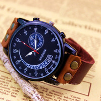 Black dial men watches, cool car dashboard watches, passion and the perfect performance of speed, real men's watch