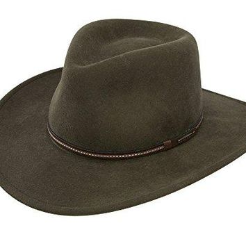 Stetson Men's Gallatin Sage Green Crushable Wool Hat - Swgltn-813242 Sage